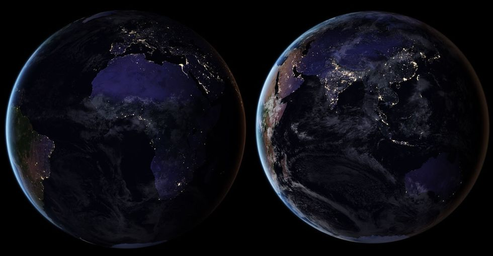 Ever need proof about how we've changed the Earth? Check out what it looks like at night.