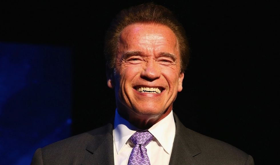 See why Arnold Schwarzenegger refuses the label 'self-made.'