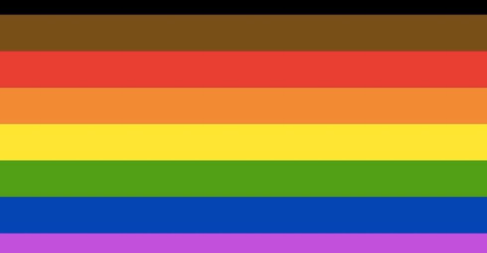 Philadelphia added 2 new stripes to the Pride flag. Here's what they stand for.