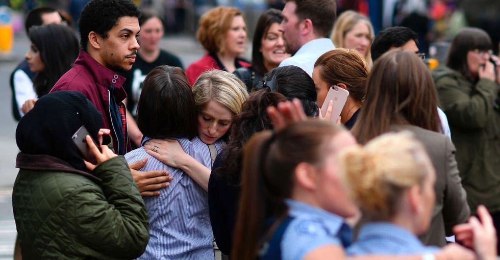 The response from people in Manchester after the attack is the best of humanity.