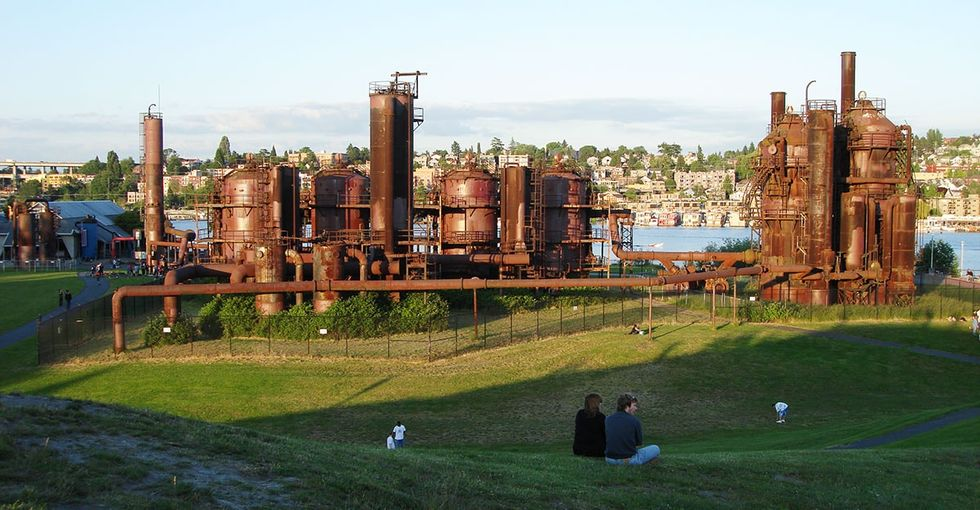 8 abandoned industrial sites turned into whimsical, haunting, and gorgeous parks.