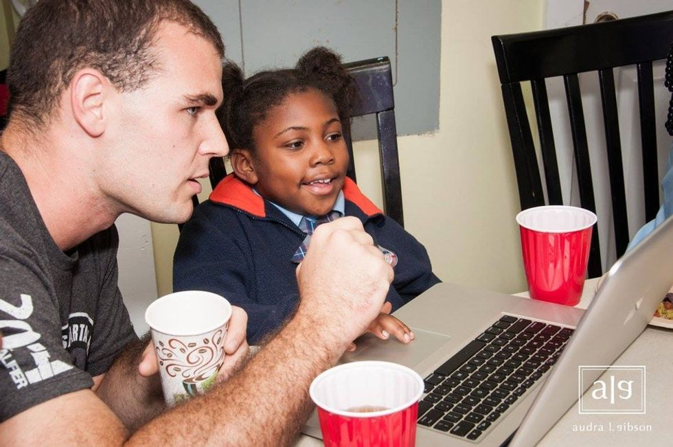 Kids as young as 4 are learning to code in the back of a laundromat. And they love it.