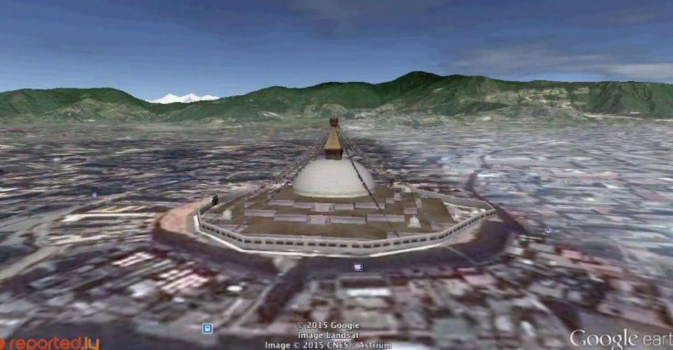 The Epicenter Of Nepal U0026 39 S Earthquake Is Near The Kathmandu