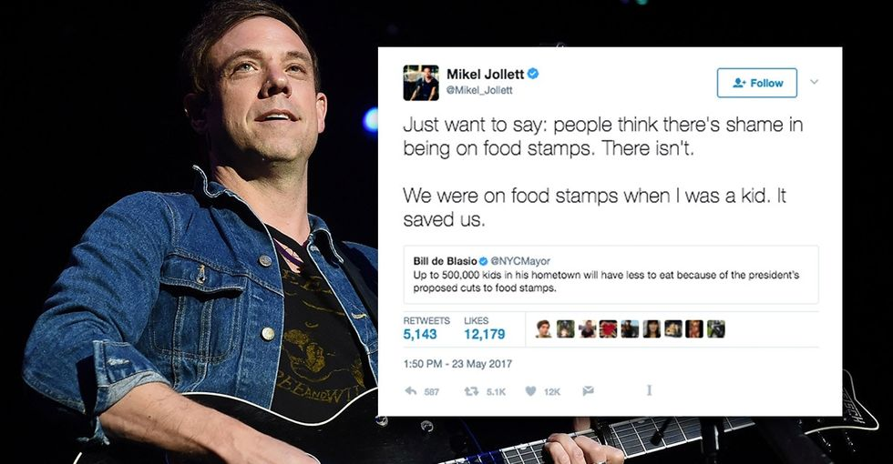 A musician tackles the shame associated with food stamps in an epic rant.