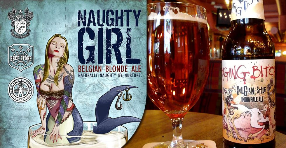 Think beer commercials are sexist? You should see these 7 labels.