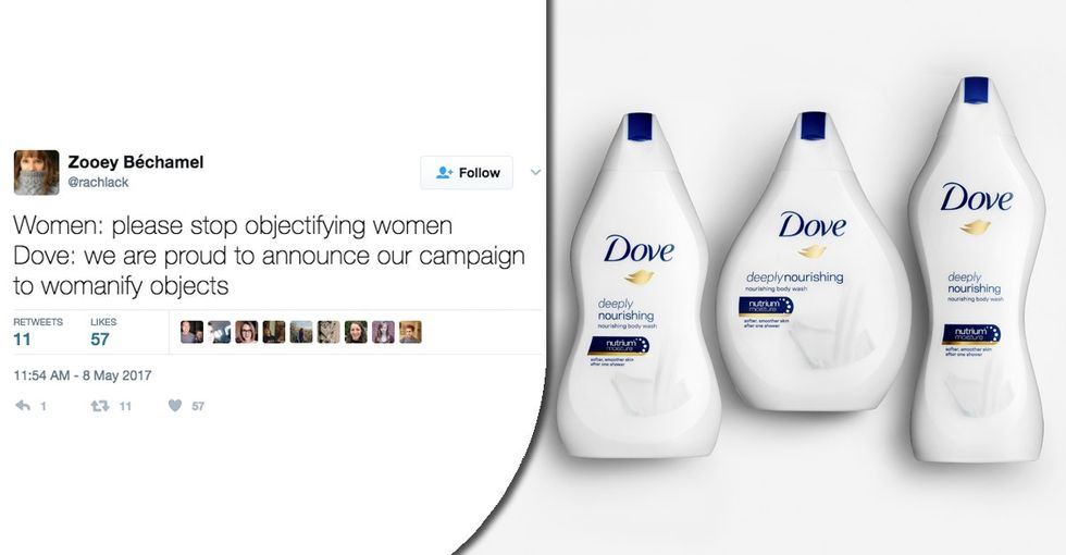 Dove's latest campaign is unintentionally funny and highlights a serious issue.