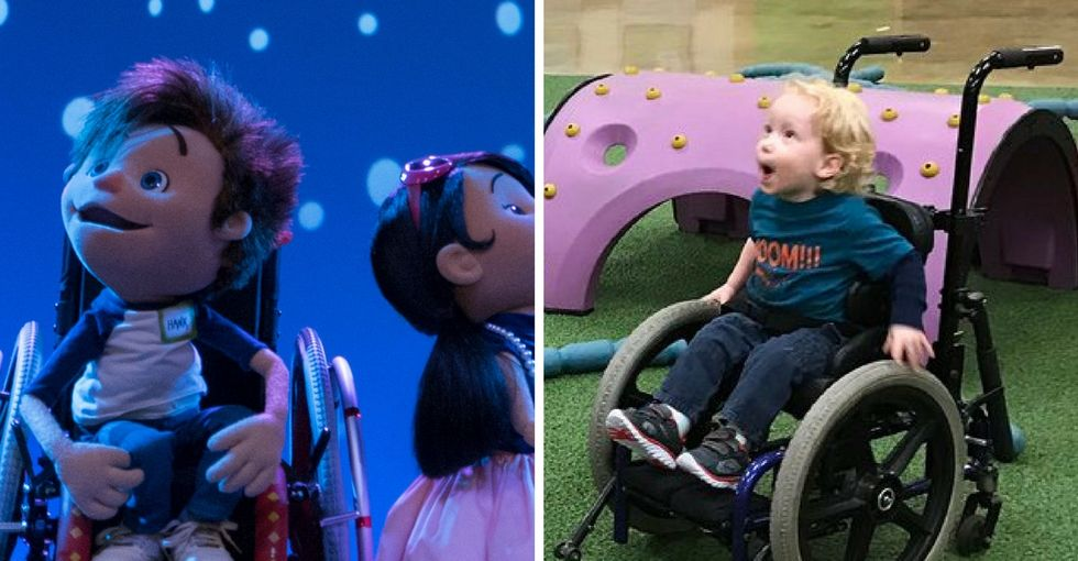 He uses a wheelchair, and so does this TV character. That matters more than you think.