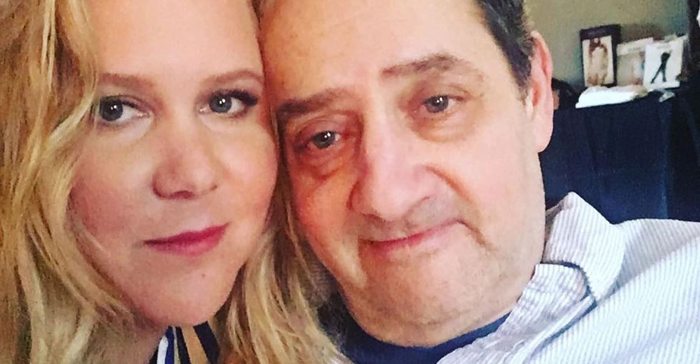 Amy Schumer captured her dad's reaction to meeting Goldie Hawn. It's priceless.