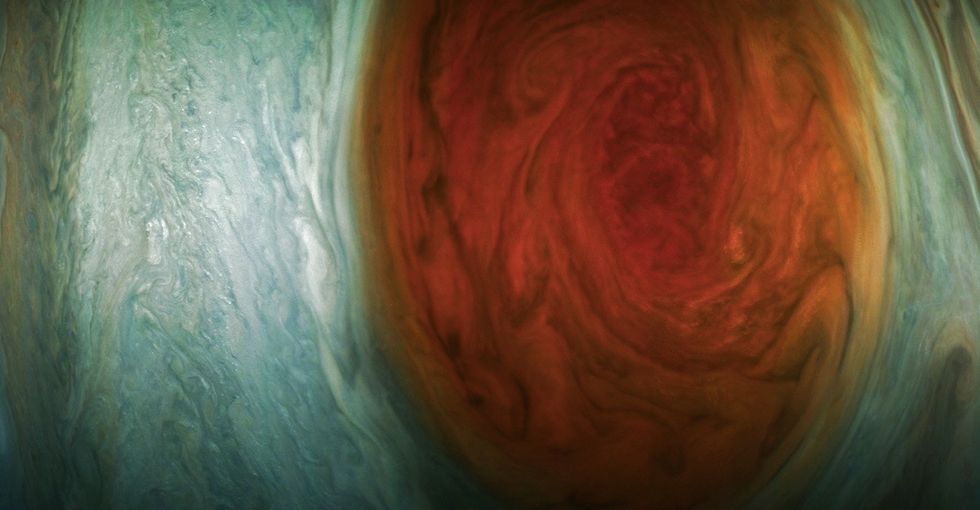 NASA's new pics of Jupiter's Great Red Spot are taking the internet by storm.
