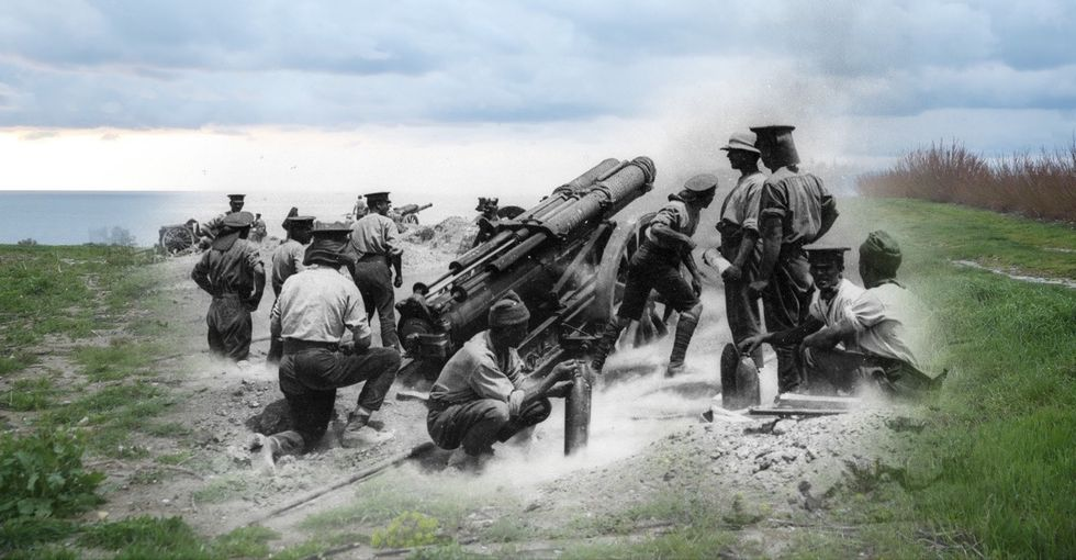 9 ghostly photos provide a powerful look back at World War I.