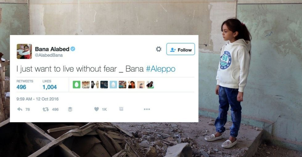 For months, this girl painted a frightening picture of Aleppo. Today, she's finally safe.