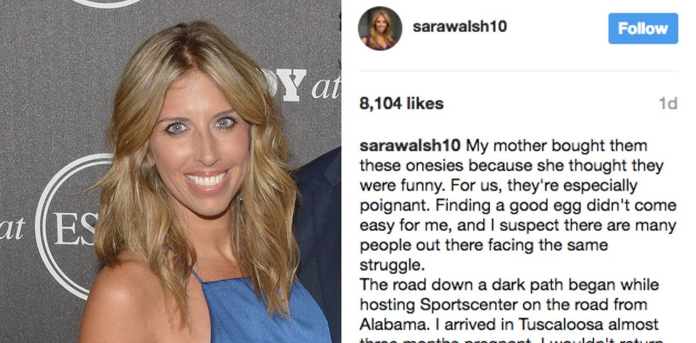 A sports anchor miscarried on-air years ago. Now she's finally writing about it.