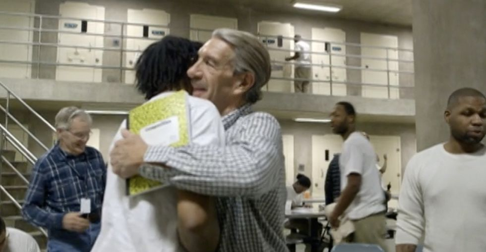 This church is practicing what they preach by bringing Christmas to people in prison.