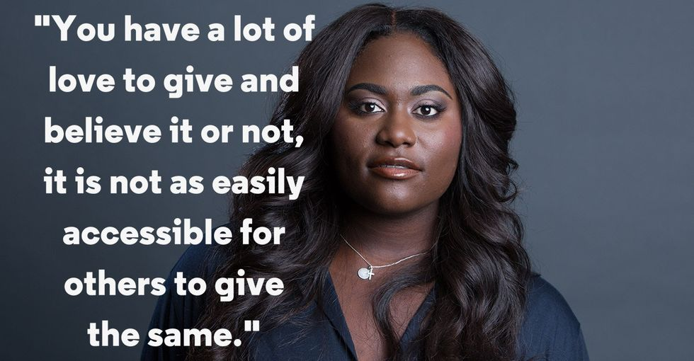 Danielle Brooks wrote a powerful letter to her teenage self. Her advice is a must-read.