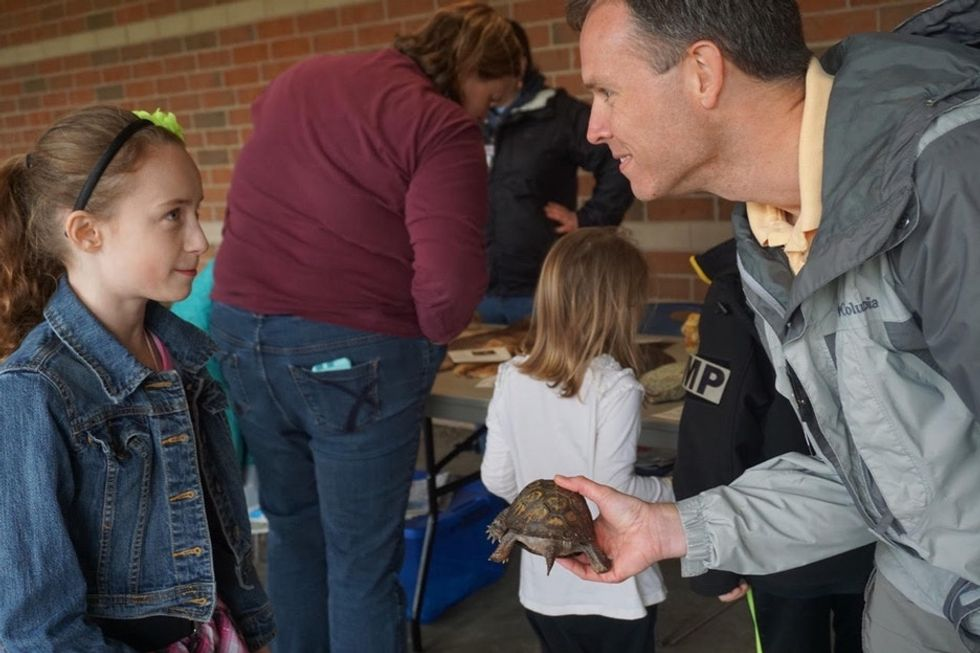 This small-town school didn't have money for a science fair. So parents made their own.