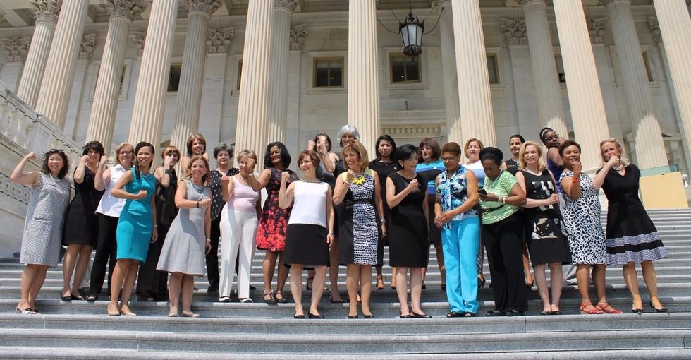 The women of Congress took a bold stand on an outdated dress code.