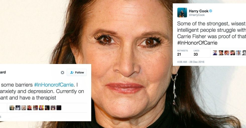 Carrie Fisher normalized mental illness. These 13 tweets show why that matters.