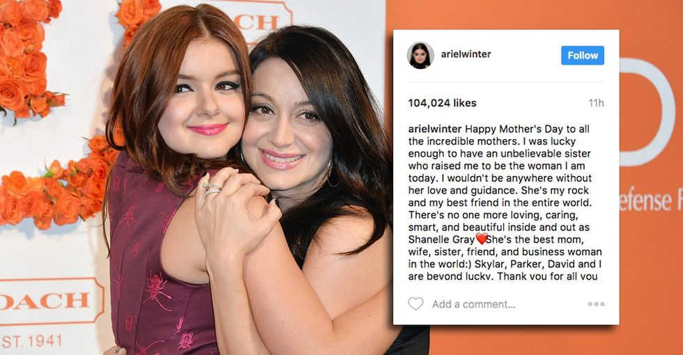 Ariel Winter's biological mom abused her. Her Mother's Day post is important.