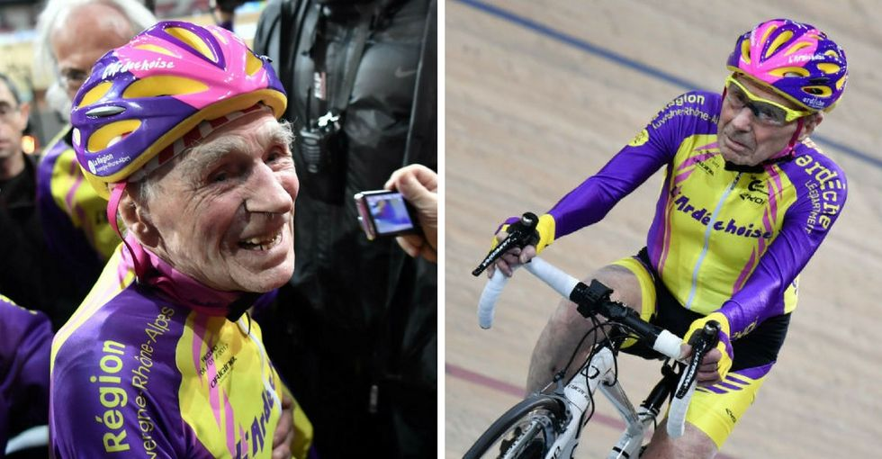 Age is just a number. Ask this remarkable, record-setting 105-year-old cyclist.