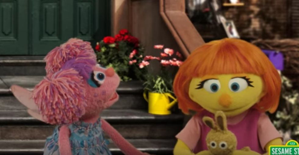 Why Julia, a new 'Sesame Street' muppet, will be important for every family to watch.