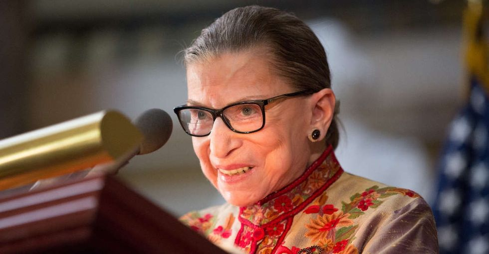 Why Ruth Bader Ginsburg's handwritten note to an 8-year-old girl matters — especially now.