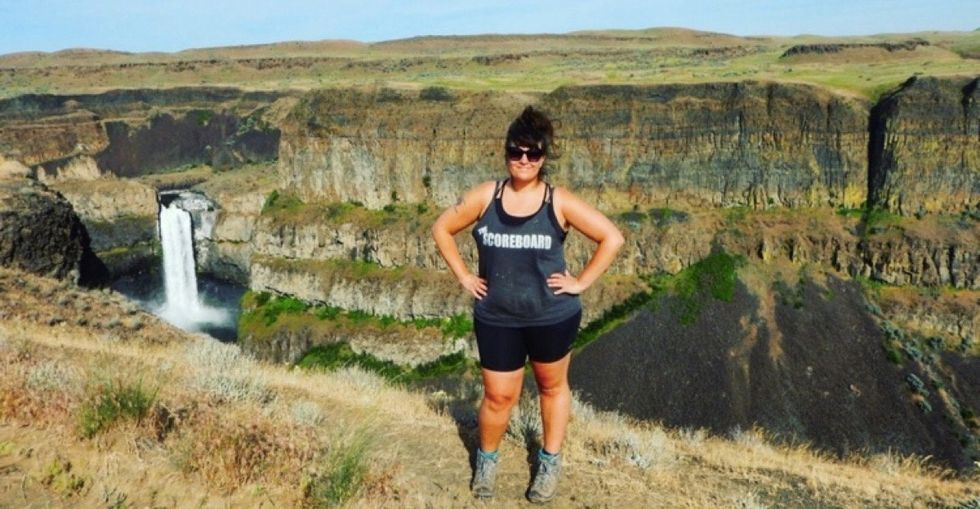 The self-identified fat, queer hiker challenging what it means to be an outdoor person.