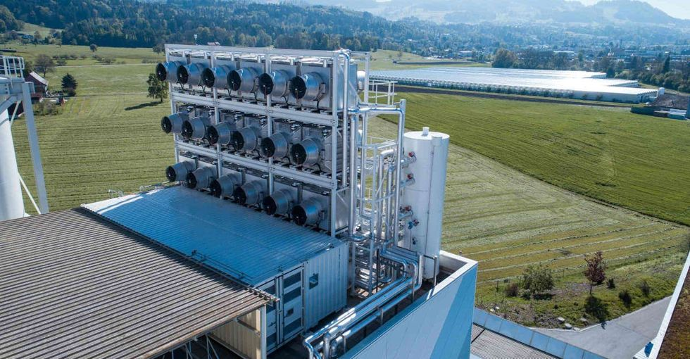 Trump's climate plans are despairing most Americans. This Swiss plant is reason for hope.