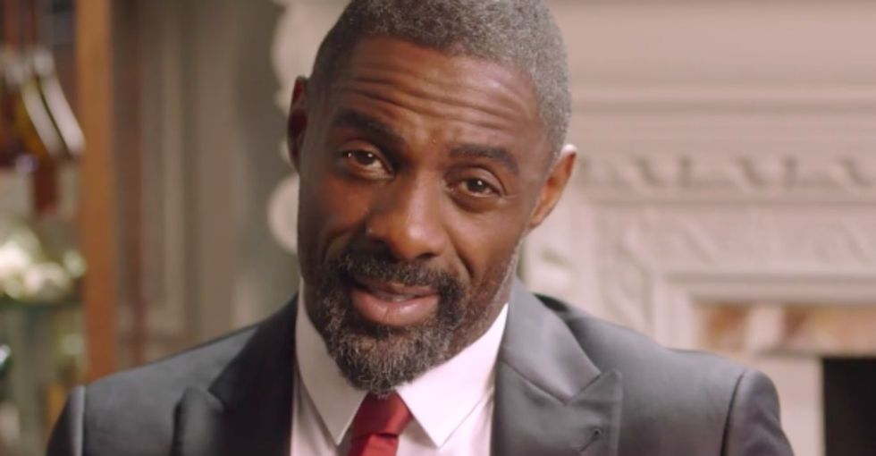 The delightful, charitable reason the internet's clamoring to get a date with Idris Elba.