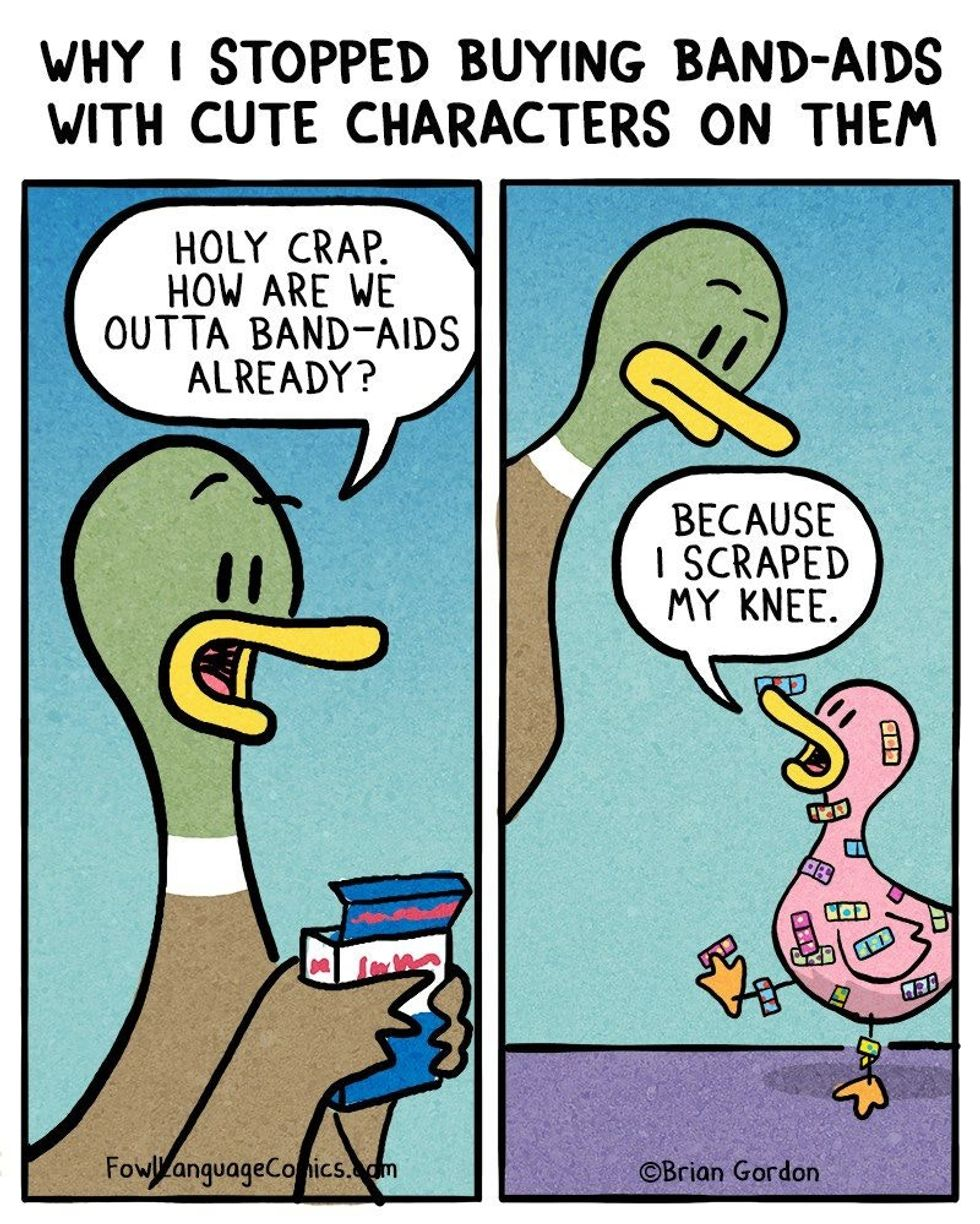 20 comics about raising kids that will make every parent say, 'I've been there!'