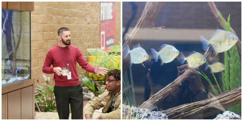 How one teacher's aquarium dream made science at this Texas school 10 times cooler.