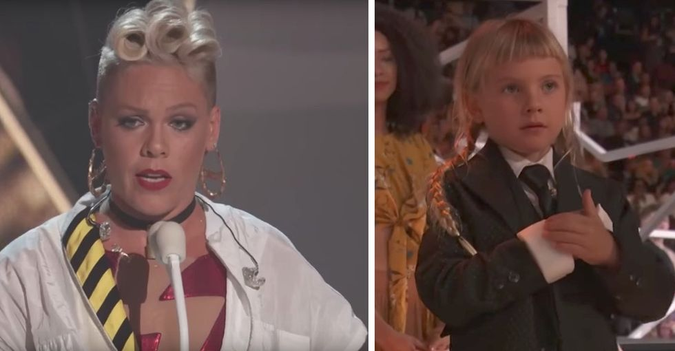 Pink's beautiful, unexpected response when her daughter was feeling 'ugly.'
