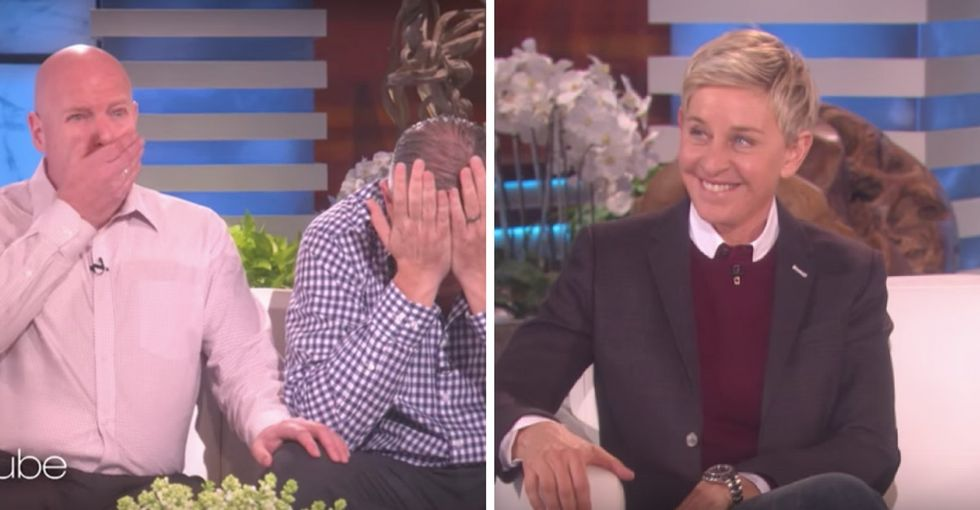 Foster kids deserve better. These dads know it. So Ellen helped them out.