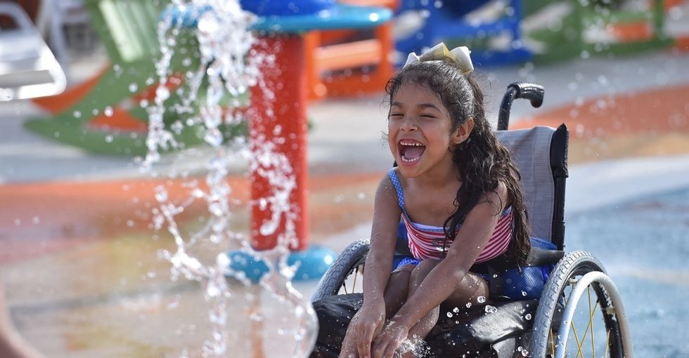 A Texan built an inclusive water park. It says a lot about how we design our world.