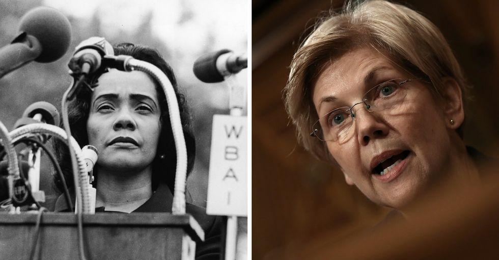 An attempt to silence Elizabeth Warren — and Coretta Scott King — backfired spectacularly.