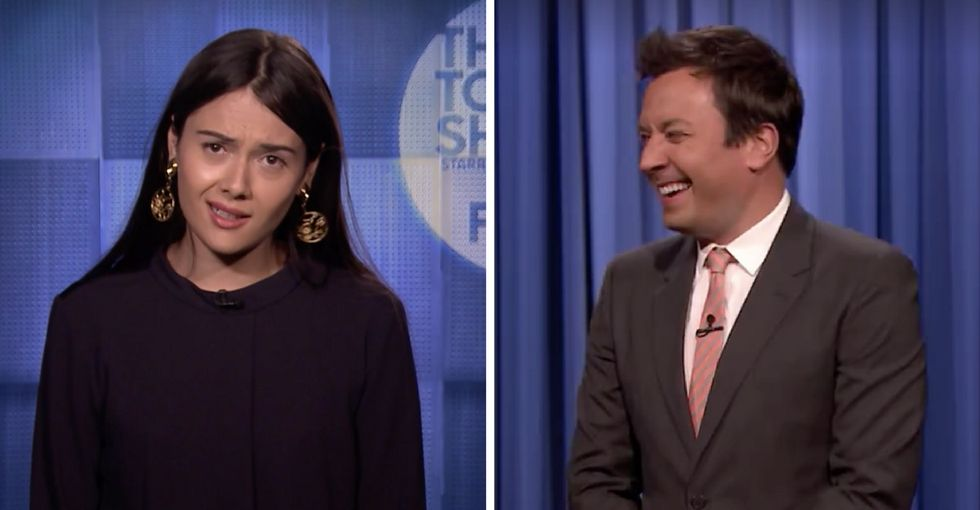 Watch this transgender comedian take down Trump on 'The Tonight Show.'
