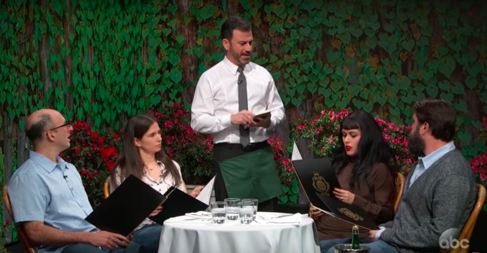 This Jimmy Kimmel sketch shows how absurd the gay wedding cake drama truly is.