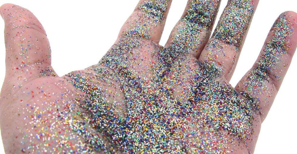 Why some scientists are throwing shade about glitter.