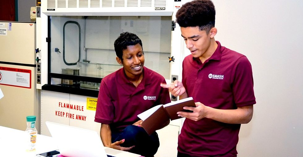 This program has a brilliant plan for bringing diversity to the world of STEM.