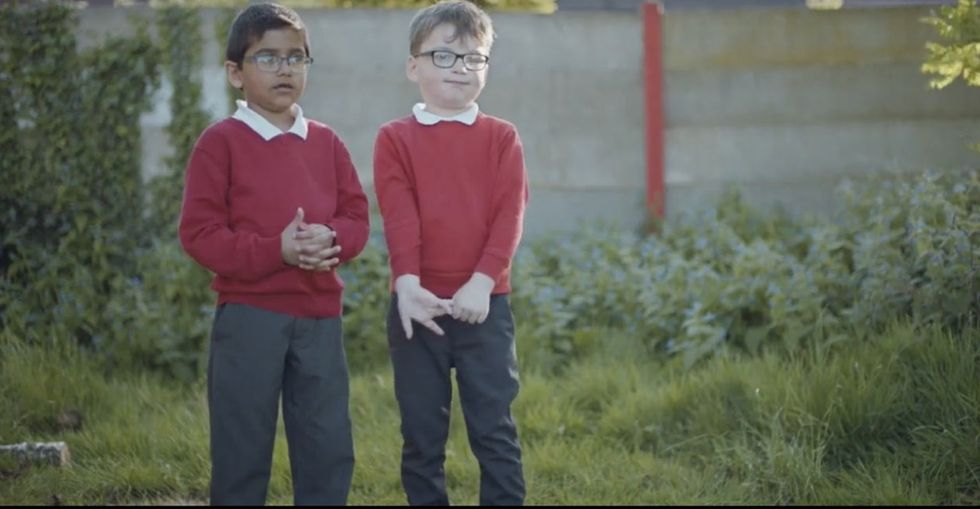 A viral video celebrating kids who don't see difference may be missing a larger point.