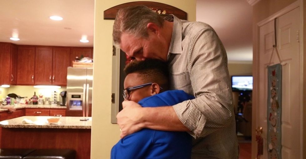 When this man told his foster care story, people listened — 39 million people.