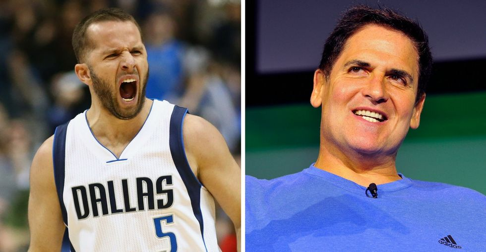 NBA star J.J. Barea took the team jet down to Puerto Rico on a humanitarian mission home.