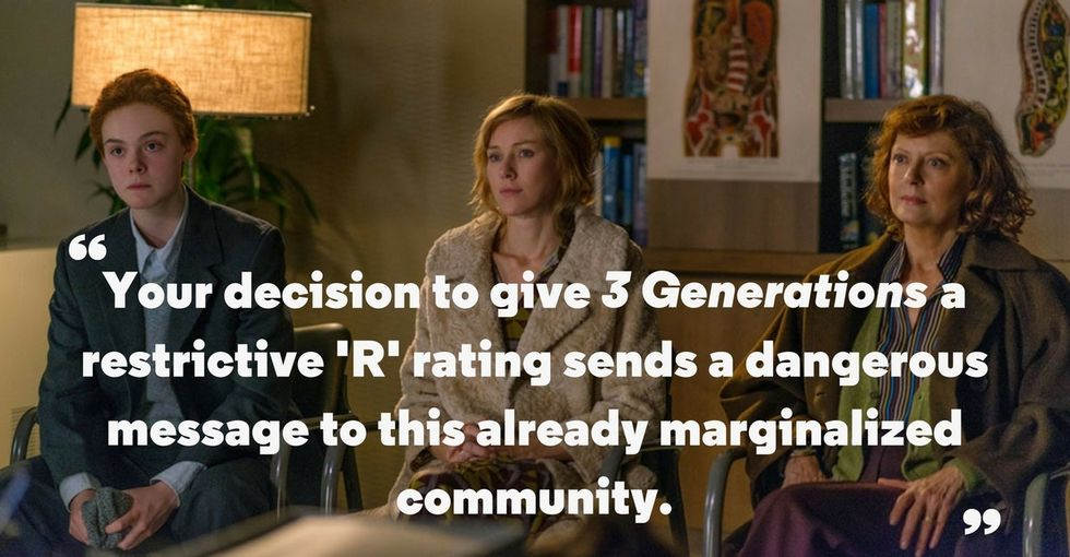 This tame movie got an R rating. GLAAD has an idea why, and it's not good.