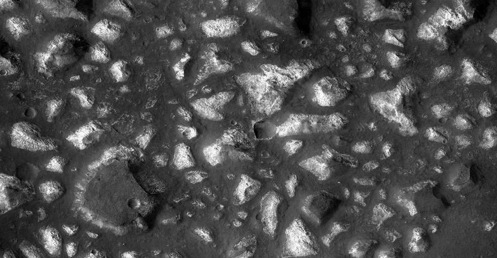 Was there ever life on Mars? If there was, it might have been here.