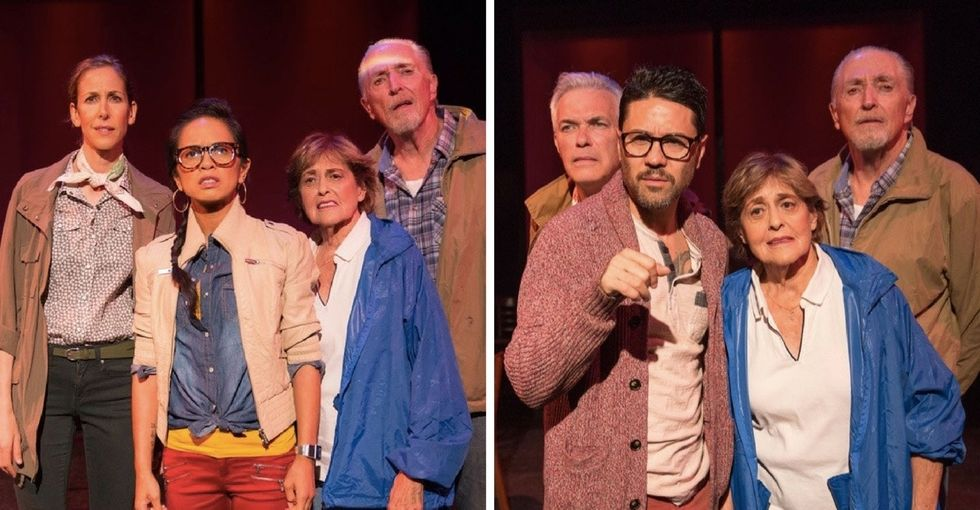 This play stars a lesbian couple or a gay couple, depending on the night.