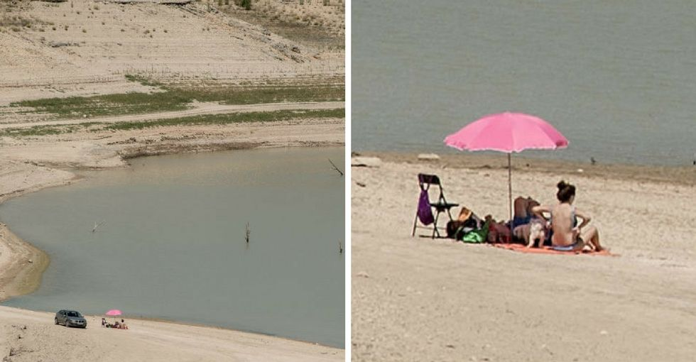16 terrifying pics of Spain's growing desert you should show a climate-change doubter.