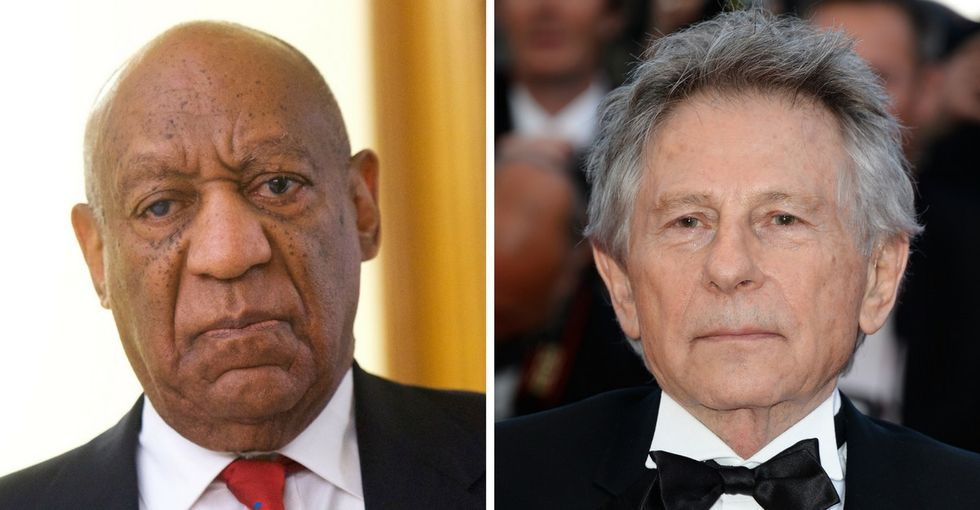 The Academy expels Bill Cosby and Roman Polanski over sexual assault cases.