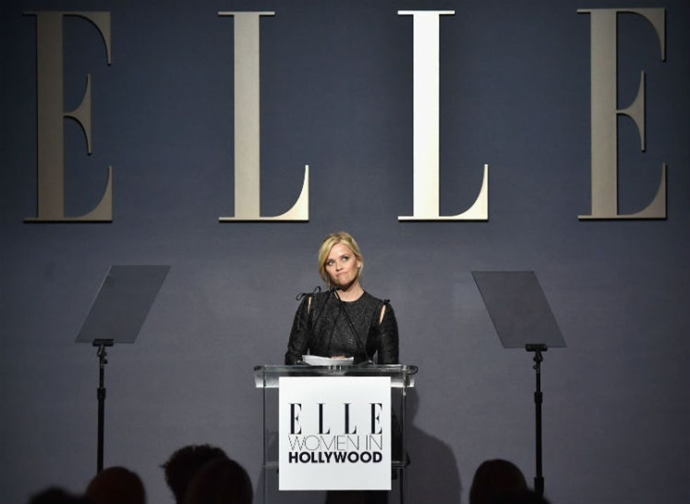 Reese Witherspoon revealed she was sexually assaulted at 16, in a powerful speech.