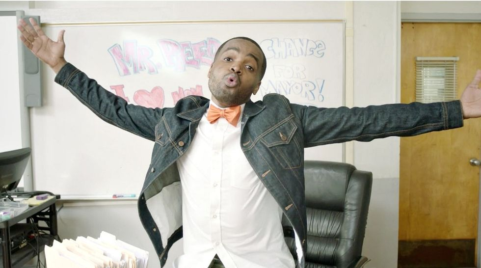 Idea of a rapping teacher sound awkward? Actually, he's awesome.