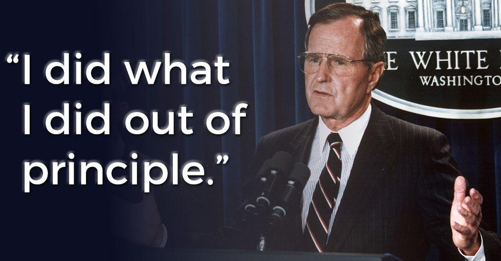How one former president handled the Klan speaks volumes.