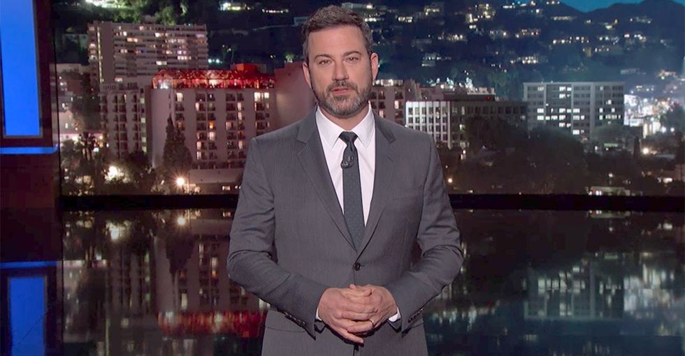 Jimmy Kimmel responds brilliantly to the backlash over his monologue on his son's health.